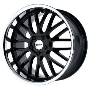 Petrol Wheels Vengeance Gloss Black Stainless Wheel (19x9