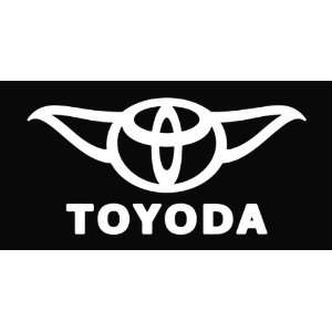 Toyoda Toyota Star Wars Funny Vinyl Die Cut Decal Sticker