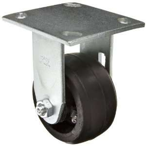 EZ Roll EZ 0420 MOR R 4 Diameter Rubber/Steel Wheel Medium Heavy Duty