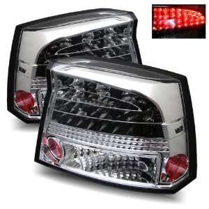 06 08 Dodge Charger Chrome LED Tail Lights Automotive