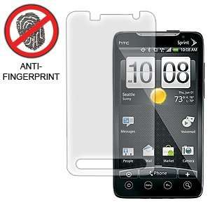 Anti Fingerprint Screen Protector for HTC EVO 4G Sprint