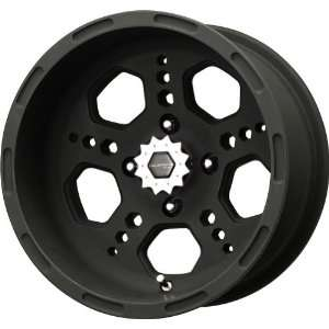 Metal Gatlin Series Matte Black Wheel (14x7/4x110mm) Automotive