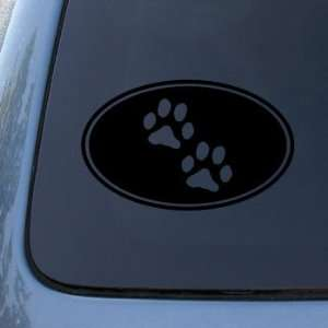 Dog Cat   Vinyl Decal Sticker #1543  Vinyl Color Black Automotive
