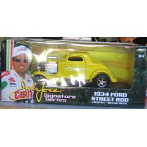 John Force Signature Series 1934 Ford Street Rod YELLOW 1