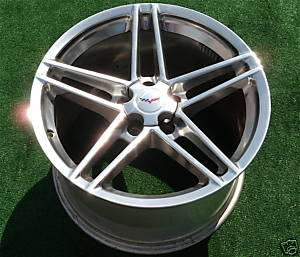 Brand NEW OEM GM CHROME Corvette Z06 ZO6 Wheel Rim 5347