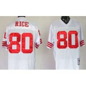 Jerry Rice #80 San Francisco 49ers Replica Throwback NFL