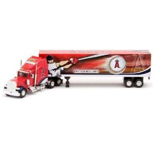 Los Angeles Angels of Anaheim 2007 Die Cast Peterbilt Tractor Trailer
