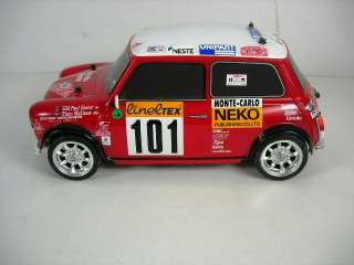Tamiya M05 Mini Cooper Monte Carlo 1/10 Scale On Road Car w Futaba