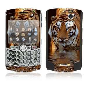 BlackBerry Curve 8300/8310/8320 Skin Decal Sticker   Fearless Tiger