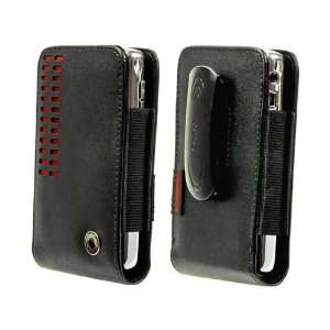 Black Red Bregam Carrying Case for HTC EVO 4G HTC HD2 HTC