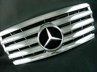 FRONT GRILLE (CHROME) FOR MERCEDES BENZ 1993 1995 W124 E CLASS
