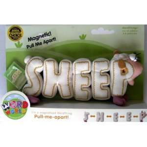 Word World WordWorld Magnetic SHEEP Toys & Games