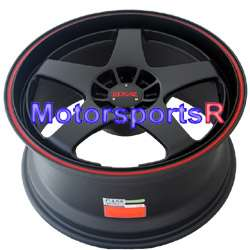 18 XXR 962 Black Wheels Rims 02 06 Mitsubishi Lancer ES