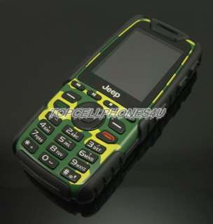 Unlocked JEEP COMPASS MILITARY Dust Shock Proof Dual Sim MOBILE PHONE