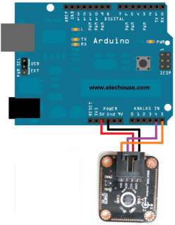 MMA7660 3Axis Digital Motion Detection Sensor Module    Arduino