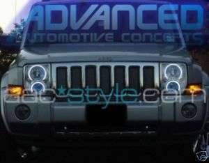 Jeep COMMANDER Headlight HALO KIT Angel/Demon Eye Kit
