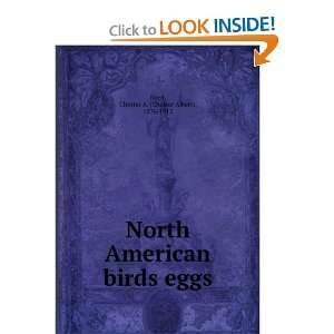 North American birds eggs, Chester A. Reed Books