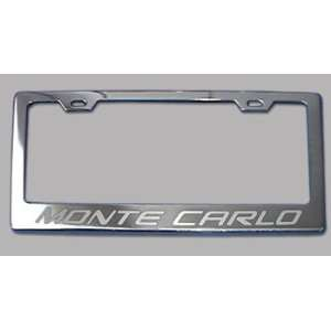Chevrolet Monte Carlo Chrome License Plate Frame