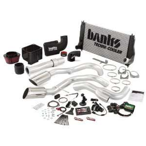 Banks Ram Air Intake/Techni Cooler Intercooler/Monster Exhaust; Duals