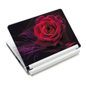 Red Rose Leaf Laptop Notebook Protective Skin Cover