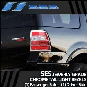 2007 2009 Ford Expedition SES Chrome Tail Light Bezels