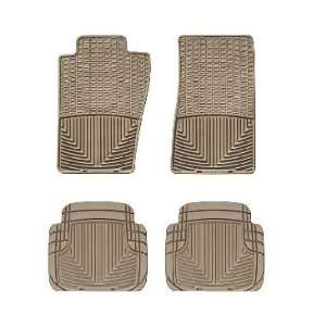2007 2011 Jeep Wrangler Tan WeatherTech Floor Mat (Full