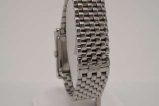 Bedat & Co Geneve No 7 Box Shaped Mens Stainless Watch