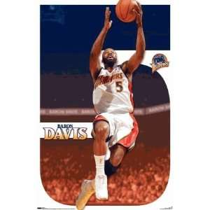 Baron Davis Poster Print of the Golden State Warriors NBA