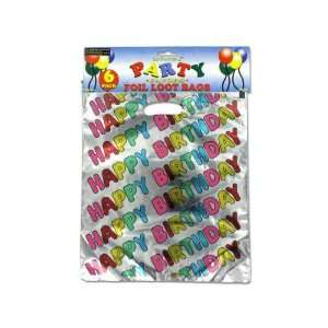 Bulk Pack of 72   Happy birthday loot bags (Each) By Bulk