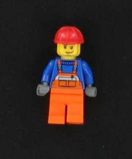 NEW Lego City Construction Worker Minifig Figure