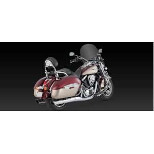 Vance & Hines Twin Slash Round Slip On 18371 Automotive