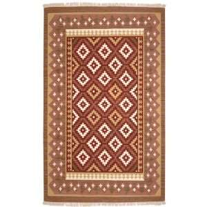 10 Sedona Southwestern Style Rectangle Flat Weave Rug