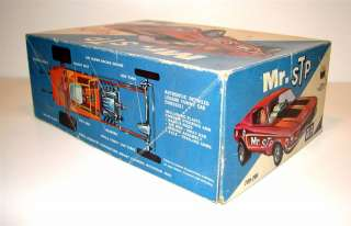MPC #709 200 Mr STP 68 FORD Mustang Funny Car 1968 annual model kit 44