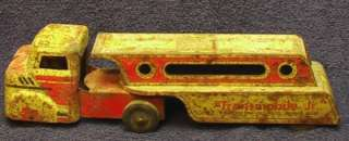 Antique Wyandotte Pressed Steel Truck Transmobile Jr. Auto Freight