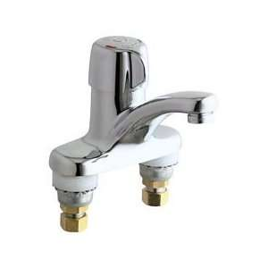 Chicago Faucets 3300 CP Deck Mounted Metering Lavatory