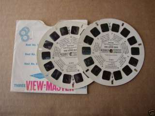 DISNEYS THE LOVE BUG VIEW MASTER REELS NOS. 1 & 3