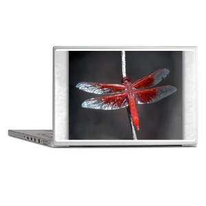 Laptop Notebook 15 Skin Cover Red Flame Dragonfly