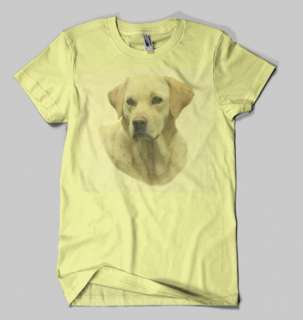 SHIRT HANGOVER II 2 Yellow Lab Dog THE REAL ONE