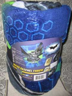 Soft Plush Gift Throw Blanket NIP Super Hero DC Comics NIP WARM