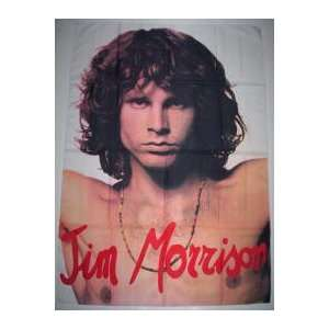 MORRISON/DOORS 5x3 Feet Cloth Textile Fabric Poster