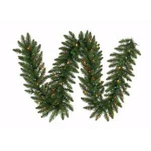 Camdon Fir Christmas Garland, Dura Lit, Multi Color