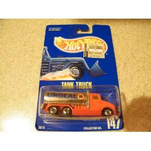 Hot Wheels Tank Truck 147 Blue Card 1991 Toys & Games