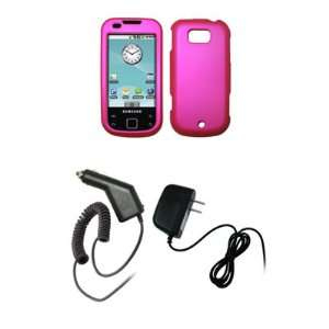 Samsung Acclaim R880   Premium Hot Pink Rubberized Snap On