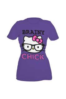 Hello Kitty Brainy Chick Girls T Shirt
