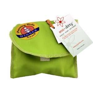 Snack Ditty Organic Snack Bag   Spring Green