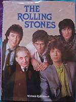 Rolling Stones   THE ROLLING STONES   Rare Book W/ Poster Jagger