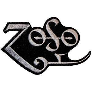 LED ZEPPELIN PAGE ZOSO SYMBOL EMBROIDERED PATCH