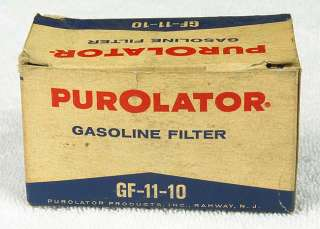 1962 ? RARE FORD FALCON MERCURY COMET GAS FUEL FILTER