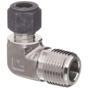 Parker CPI 6 8 CBZ SS 316 Stainless Steel Compression Tube Fitting, 90