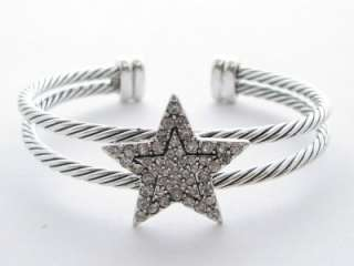 Star Clear Crystal Cuff Bracelet Jewelry Scentsy